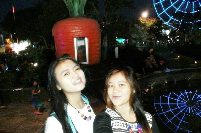 Wisata Malam di Batu Malang - Alun-alun Batu